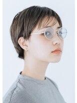 コットン(cotton)【 cotton横山 】シンプルショートマッシュヘア