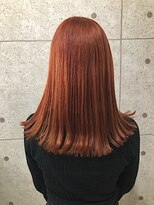 アールプラスヘアサロン(ar+ hair salon)デザインカラ-ロングヘア