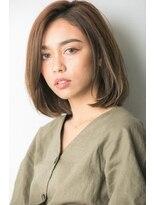 ユーフォリアギンザ(Euphoria GINZA)大人可愛い☆ナチュラル小顔ミディアムボブ 担当畑俊太朗