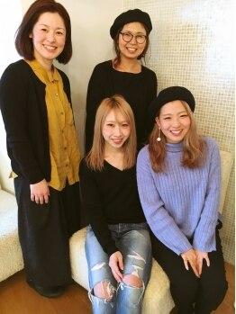 ロコピカロ ミュゼ(LOCOPICARO MUSSE)の写真/【西条☆】なりたいイメージがわからなくても大丈夫♪女性目線で話してくれるから、髪の悩みも話しやすい◎