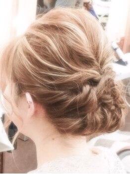 美容プラージュ 長町店の写真/早朝OK!予約不要!巻き髪¥1080~!編み込み・アップ・盛り髪など、ちょっとしたお出掛けやデートにも♪