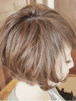 """ヘア カーロ(HAIR CARO)の写真/イタリアのオーガニックヘアケアブランド""""ヴィラロドラ""""使用☆天然由来成分92%配合の薬剤で健やかな艶髪に!"""
