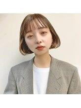 ジジ 代々木(Gigi)【Gigi長田】イメチェン イヤリングカラー 前髪カタログ