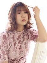 ヘアリゾート ブーケ(hair+resort bouquet)ブーケ星野☆モテミディアム×シアーベージュ