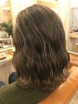 ロア ヘアーコーディネイト 烏丸店(LoRE hair coordinate)ハイライトエメラルドアッシュ