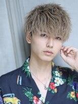 リップス 渋谷(LIPPS)夏のランダムショートパーマ【ハロマッシュ】