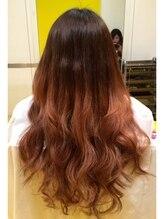 デュオ ヘアー エクステンションズ 心斎橋店(DuO hair Extentions)★ローライトふわふわグラデーション★