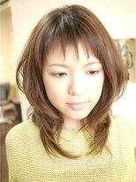 キーナ(Organic Hair KI-NA)ダイヤモンドウルフでギザギザ前髪★