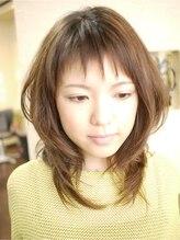 ヘアーアンドメイク キーナ(hair&make KI NA)ダイヤモンドウルフでギザギザ前髪★