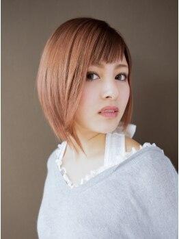 スクリーン(SCREEN)の写真/◆ナノ・サプリ縮毛矯正◆ナチュラルな曲線のあるストレートが手に入る◎ツヤ感UPの美髪へ・・・♪