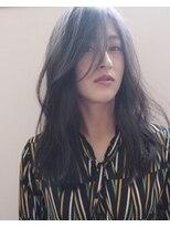 シキオ ヘアデザイン(SHIKIO HAIR DESIGN FUK)ネイビーカラー