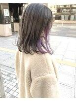 モッズヘア 仙台PARCO店(mod's hair)【奥山】ハイライト+インナーカラーの欲張りカラー♪