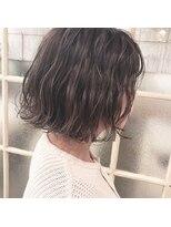 ガーデンヘアー(Garden hair)[松岡]☆細いハイライトのグレージュ☆