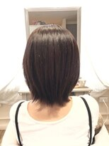 ブレスヘアーデザイン(BLESS HAIR DESIGN)ショート×美革ストレート