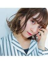 【インナーカラー】が可愛い☆この夏イチオシレイヤーボブ☆