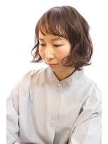 オーガニックサロン フェイス 茶屋町店(organic salon face)外国人風ふんわりやわらかボブ☆