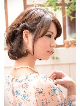 ミエルヘアーブラン(miel hair blanc)【miel hair blanc】☆アシメアレンジ☆