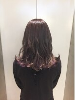 ヘアサロン ドット トウキョウ カラー 町田店(hair salon dot. tokyo color)【vivid violet10】インナーカラーカラーリスト田中 【町田】