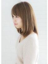 ヘアー ピープル(Hair People)☆メルティーベージュ×王道ミディアムボブ☆