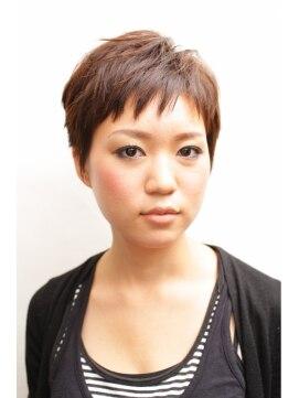 ヘアーコンセプト イロエンピツ(HAIR CONCEPT IROENPITSU)キュートな表情を引き出すやわらかベリーショート
