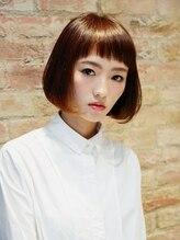 アース 熊本下通店(HAIR & MAKE EARTH)王道ナチュラルボブ☆【EARTH熊本下通店】