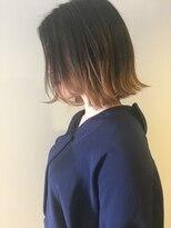 エゴヘアコレクション(EGO HAIR COLLECTION))グラデーションカラーand切りっぱなしボブ タンバルモリ
