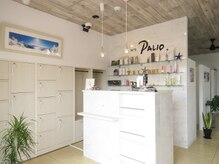 ヘアアートパーリオ 飾磨店(hair art PALIO)の雰囲気(自然の海を表現し、居心地のよく広々とした空間です。個室あり)