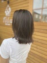 ヘアルームティラ(hair room tila)外ハネスタイル