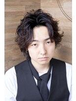 ヴィー ヘアー ファッション バー(VII hair.fashion.bar)VII hair 「メンズセンターパート」1