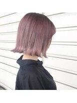 ルッツ(Lutz. hair design)ホワイトラベンダーピンク