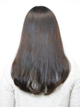 グー(GOO)の写真/自分に合う縮毛矯正お探しの方必見!!1人1人の髪の状況に合わせて薬剤を調整していくオーダーメイド縮毛矯正