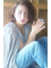 リマ(RIMA)【RIMA】HARUKI 外国人風☆かきあげた無造作な質感のラフBob