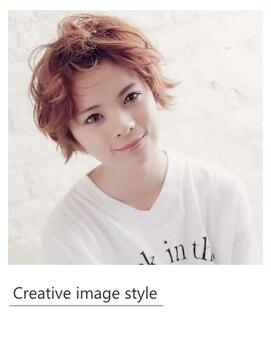 ヴェローグ シェ ブー(belog chez vous hair luxe)【Creative image styel】前髪ピン留めアレンジ