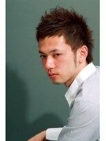ディグズ ヘアー(Digz hair)【Digzhair:原宿】ナチュラルモヒショート