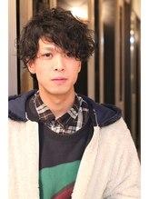 ウィ 立川(Oui)【Oui!】 Men's Style.Mix Curl Bob
