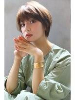 【ROSE/鳳】ひし形ショート/マッシュヘア/くせ毛ショート