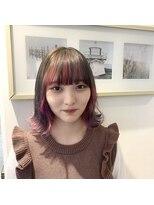 ジーナシンジュク(Zina SHINJYUKU)アレンジデザインカラー