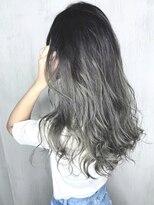 ソース ヘア アトリエ(Source hair atelier)【SOURCE】シルバーバレイヤージュ