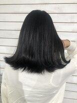 ビーヘアサロン(Beee hair salon)ネイビーブラック