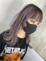 ロングウルフホワイトラベンダー【アンククロス池袋東口/佐藤】