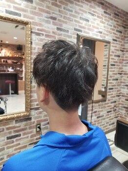 ザザ ルービック(ZAZA rubik)の写真/モテたい男たちへ!【ZAZA rubik】のパーマで、思い通りのヘアスタイルへ!家での再現性も高い◎