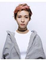 アルテヘアー(arte HAIR)【arte HAIR】PINK × short