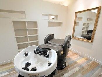 カナル(canal)の写真/個室でシャンプー移動もなし!北欧風の可愛い店内でゆっくりリラックス♪細かな気遣いが行き届いた理美容室