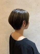 ヘアドレス レイ(Hair dress Lei)SHORT × ash color