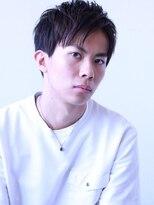 【soy-kufu】束感グレイショート