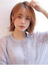 アグ ヘアー ジゼル 花巻店(Agu hair gisele)《Agu hair》柔らかフォルムの韓国ゆるボブ