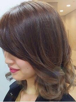 ルーフー(Rufu)の写真/《ルーフー》で美シルエットが叶う◎ショートヘアもお任せ♪再現性の高い似合わせデザインを実現します!!