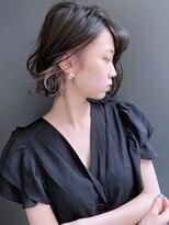 ラウンジ モリオ イケブクロ(Lounge MORIO Ikebukuro)【morio池袋】大人かわいい丸みのあるワンレングスボブ♪