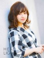 アーサス ヘアー デザイン 駅南店(Ursus hair Design by HEAD LIGHT)*ursus*くせ毛風無造作ミディアムスタイル