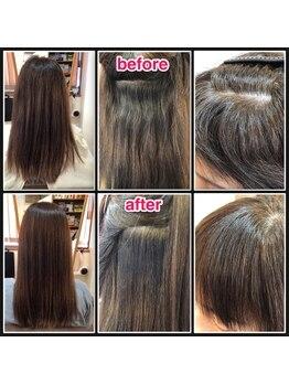 美容室チェーロの写真/髪質・ダメージに合わせ薬剤・処理剤を使い分け、しっかりストレートも柔らかストレートも思いのまま♪